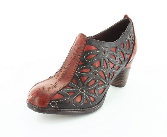 LArtiste Womens Arabella Red Multi Boot – 41  from amazon.com on Wanelo