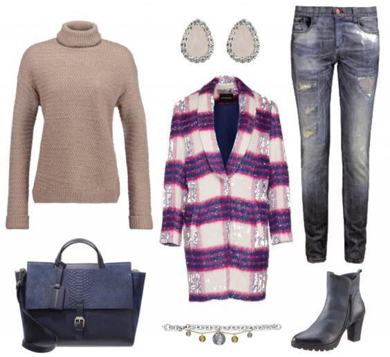 #Herbstoutfit Stylisch und locker ♥ #outfit #Damenoutfit #outfitdestages #dresslove