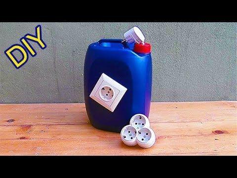 Ideia Brilhante Com Tubo De Pvc E Galao De Plastico Diy Tutorial