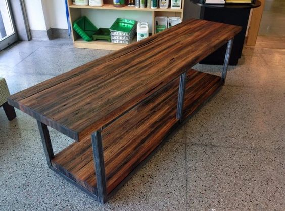 reclaimed wood furniture made by Justin Cooper in Houston - Reclaimed Wood Furniture, Houston And Handmade Furniture On Pinterest