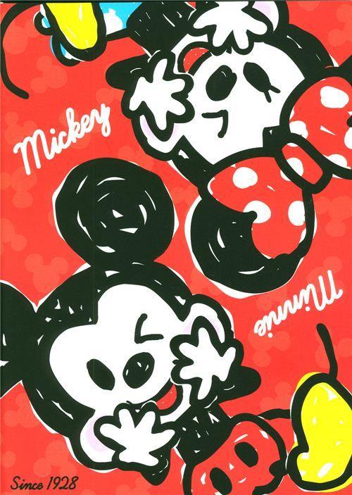 Mickey y Minnie Mouse