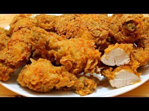 3 بروستد الدجاج مثل كنتاكي أصدق و أفضل طريقة على اليوتيوب Youtube Kfc Chicken Recipe Chicken Recipes Kfc Chicken