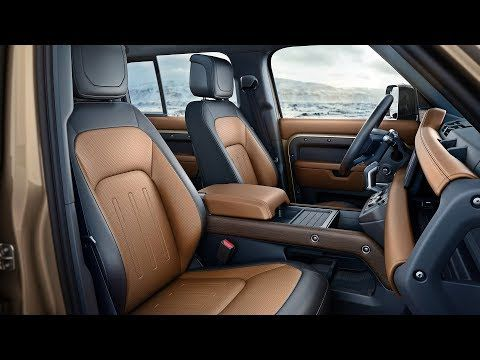 2020 Land Rover Defender Interior And Features Youtube In 2020 New Land Rover Defender Land Rover Defender Interior Land Rover Defender