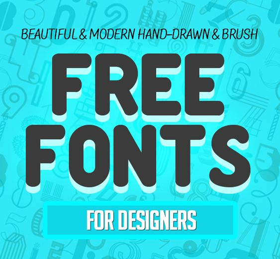 17 New Ultramodern Free Fonts for Designers