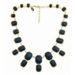 Stone Bibb necklace