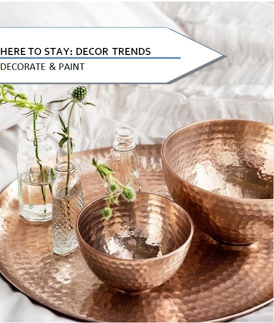 HERE TO STAY: DECOR TRENDS | Decorate & Paint #decorateandpaint #interiordesign #decortrends #diy #homedesign #colourschemes #homeinspiration