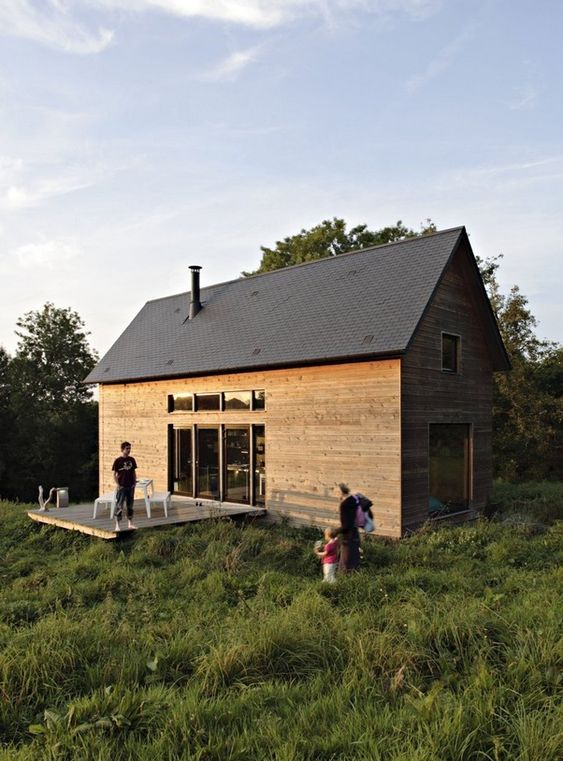 This two level cabin or f house is 979 sq ft and for 2 level tiny house