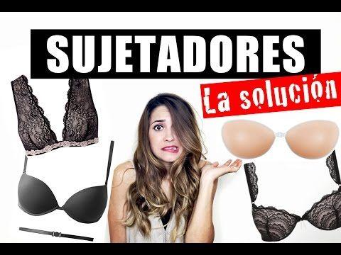 Espalda Descubierta La Solución Justcoco Youtube Undergarments Swimwear