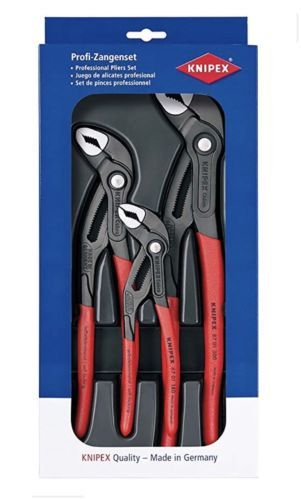Knipex 002006Us1 3 Piece Cobra Water Pump Plier Set