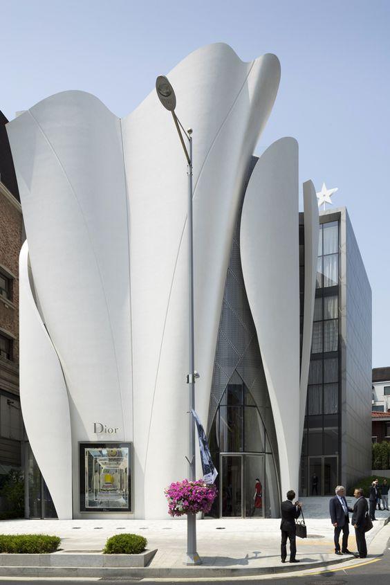 Nestled in the Seoul's Gangnam-gu district, Christian de Portzamparc and Peter…