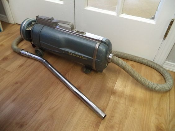 Vintage Working Electrolux Canister vacuum is available for $60.00. Comes with its old stock new stock extra bags.