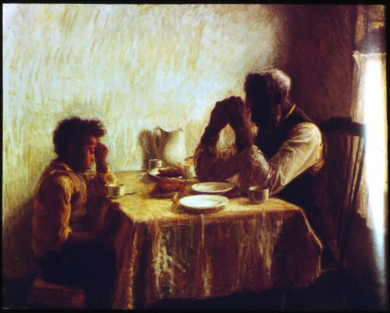 HenryOssawa Tanner~The Thankful Poor