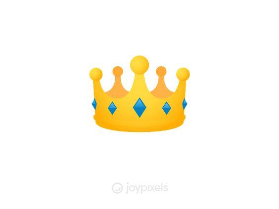 Joypixels Crown Emoji Emoji Design Emoji Animation Design