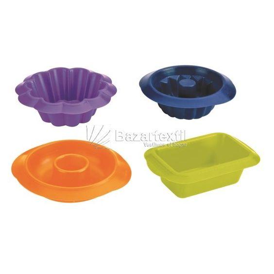 Set 4 Minimoldes Ibili - Bazartextil.com