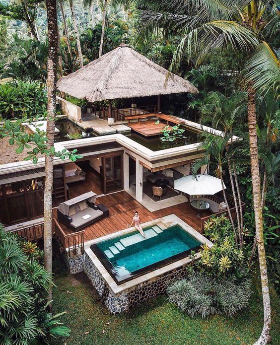 24.7 тыс. отметок «Нравится», 163 комментариев — 🌍 Art & Architecture Magazine (@modern.architect) в Instagram: «Jungle #Villa, 📍 #Bali #Indonesia, 📸 @michutravel, . . . . . #modernarchitect #architect #design…»