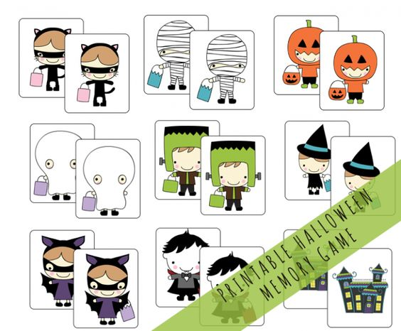 halloween game memory