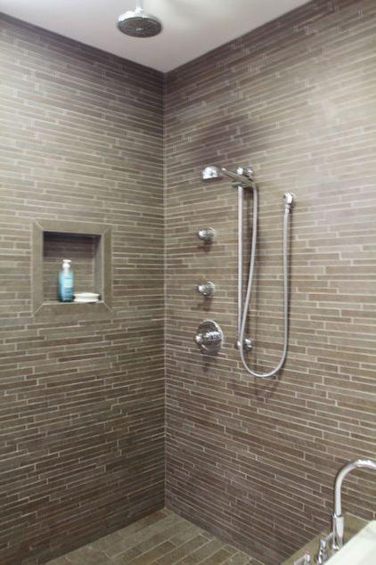 Horizontal Shower Tile Hand Held Shower Head Rain Shower