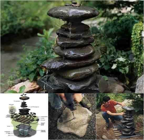 Beautiful Diy Zen Water Fountain Gardens Beautiful And Diys