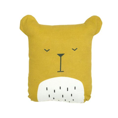 Animal Cushion - Lazy Bear
