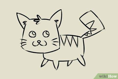 30 Gambar Kucing Kartun Sederhana 4 Cara Untuk Menggambar Anak Kucing Wikihow Download 4 Cara Untuk Menggambar Kucing Wiki Kartun Menggambar Kucing Kucing