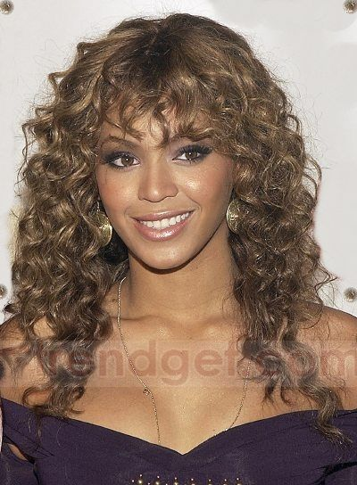Medium Wavy / Curly Sepia Capless Wigs For Black Women 100% Indian ...