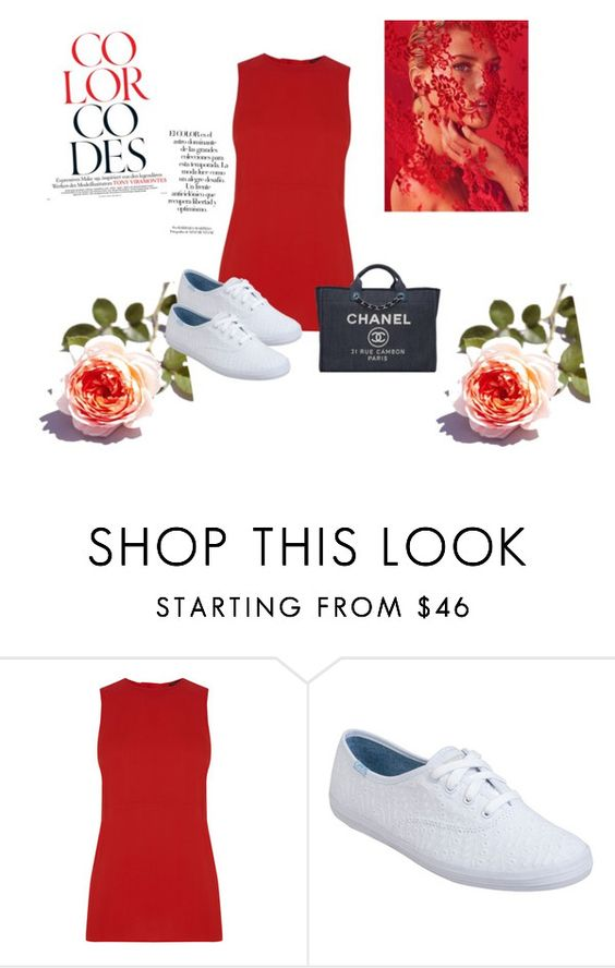 """Untitled #211"" by nikkirozaye on Polyvore featuring Warehouse, Keds, Chanel and Arco"