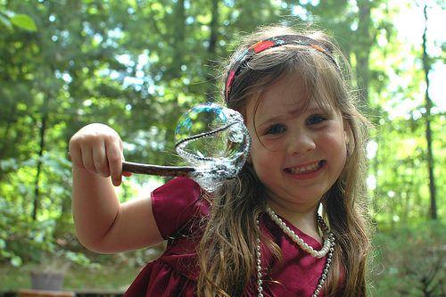 Nature Bubble Wands