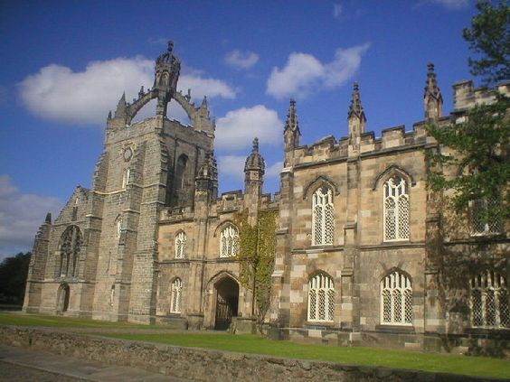 King's College in Aberdeen, Scotland, out son-in-law got a master's degree here....beautiful place.