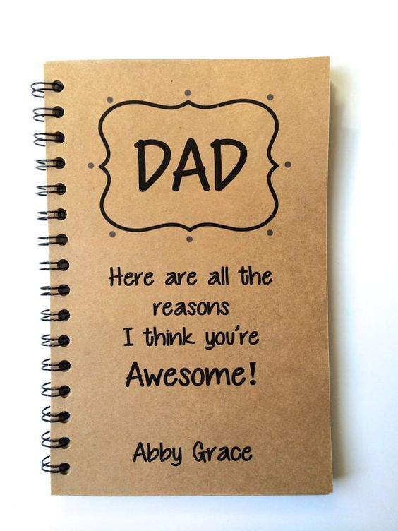 Gift for dad from daughter and family Father's Day by WordBirdShop ...