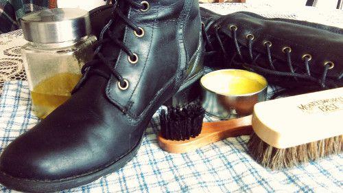 cirage chaussure timberland