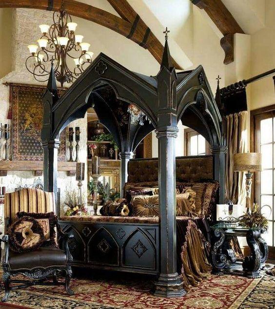 # GOTHIC BEDROOM