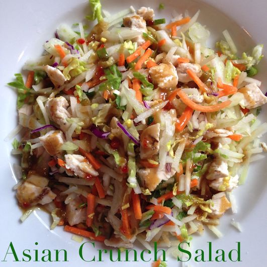 Asian Crunch Salad | Food | Pinterest | Dairy, Spicy and ...