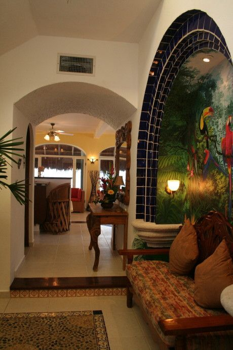 Entry way at Casa Canteena.
