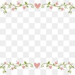 Bordes De Flor Rosa Creativo Marco Flores Png Y Psd Para Descargar Gratis Pngtree Flower Png Images Floral Vector Png Love Png