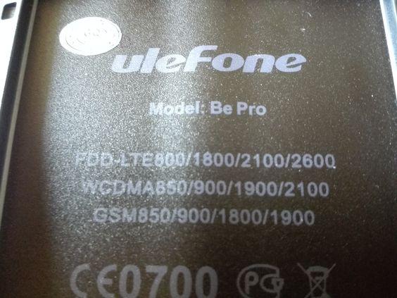 Foto vom #uleFone Be Pro