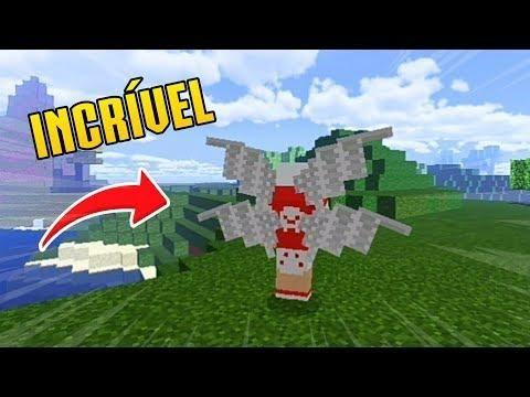 Saiu 5 Novas Asas Para Sua Skin No Minecraft Pe Minecraft