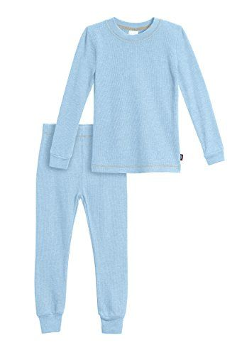 City Threads Little Boys' Thermal Underwear Long John Set (Size 2T ...