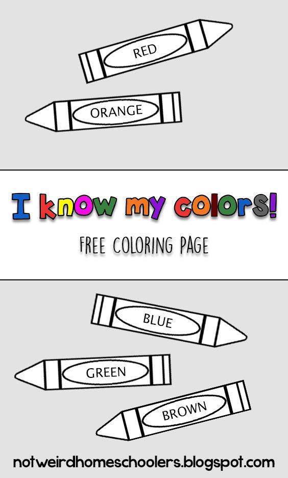 Crayon Template With Images Crayon Template Crayon Clip Art