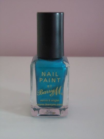 Brand: #BarryM Colour: 334 #Teal 240 This is great to wear all year round no matter if you're wearing it to go to a #party or just to go shopping. Most skin tones look fantastic with #turquoise so go out a buy some #turquoise #nail varnish to add this #colour to any outfit.