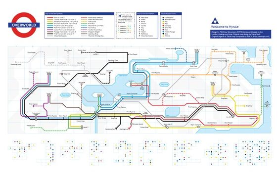 Now All Your Favorite Video Games Are Mapped Out Like Metros - CityLab