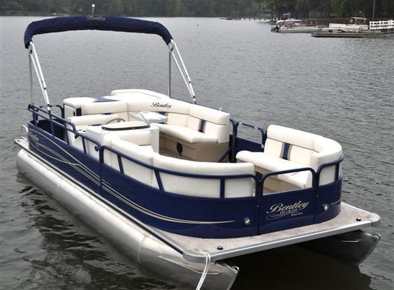 Image detail for new boats bentley pontoon boats for Party fishing boats