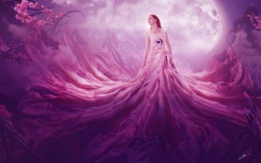 Pink Fantasy 4k Beautiful Fantasy Art Fantasy Art Art