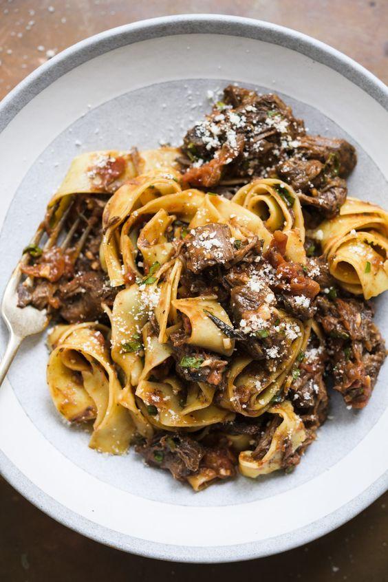Tuscan Beef Ragù