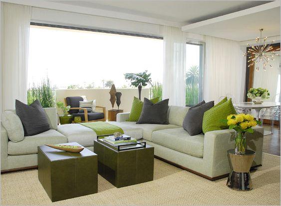 Cozy Modern Curtain Ideas for Living Room : Livingroom Curtain ...
