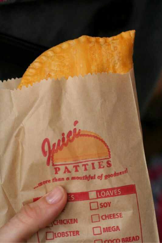 A must have in Jamaica!  Juici Patties!