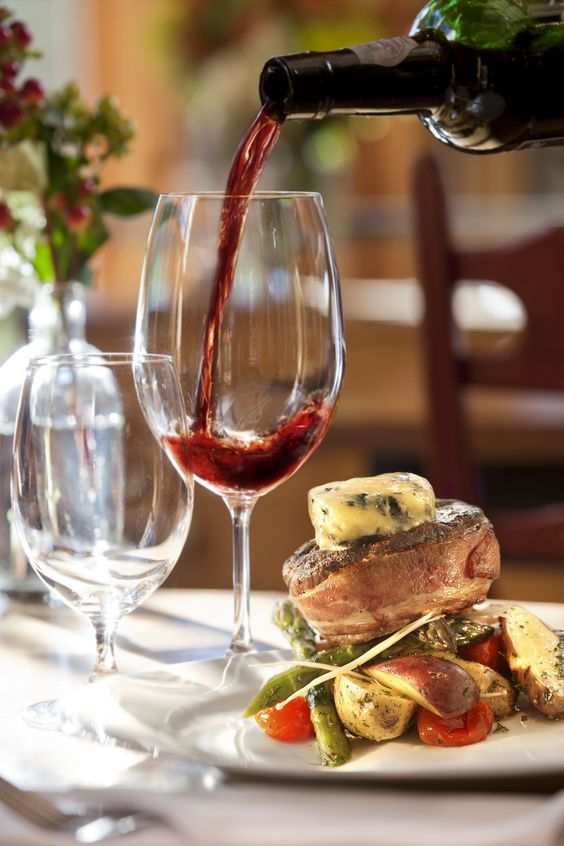 Fine Dining Dinner With Friends And Red Wines On Pinterest