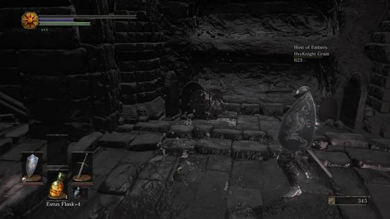 First draw I've had in a Souls game
