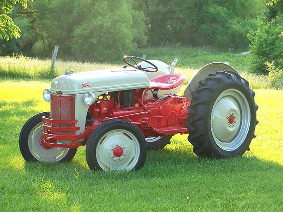 Ford 9n Restored : Ford tractors n tractor restored