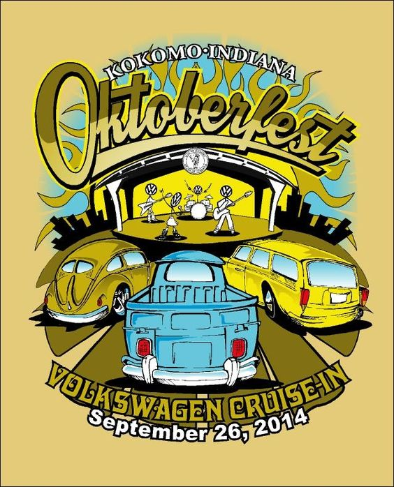The City of Firsts Volkswagen Club is pleased to announce its new partnership with the Kokomo Summer Concert Series for the 10th Annual Oktoberfest Volkswagen Cruise In. We are excited to announce this partnership with an organization that promotes unbelievable concerts at Foster Park's beautiful Performing Arts Pavilion. Our new venue has a lot to offer and we know our guests will be impressed.