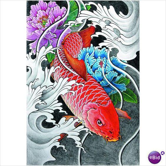 Tatuagem Oriental Orient Tattoo Koi Phoenix Queixa